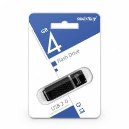 SMARTBUY Флэш-карта 4GB USB 2.0 LM05 ЧЕРНЫЙ